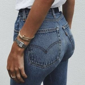 Re/done Levi's skinny straight crop 24